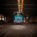 Kniepper LKW in der Aufbearbeitungsanlage Duisburg